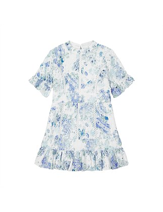 Charlotte Cotton Floral Dress (Girls 3-7)