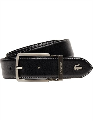 ELEGANCE 35MM LEATHER BELT WITH CROC