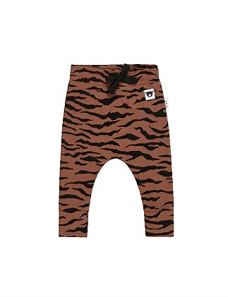 TIGER DROP CROTCH PANT (0-3M - 2Y)