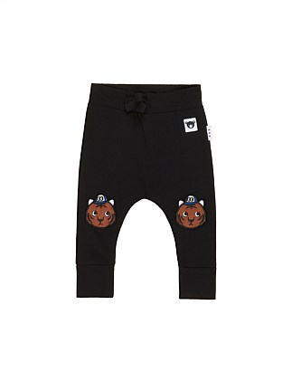 TIGER KNEE DROP CROTCH PANT (0-3M - 2Y)