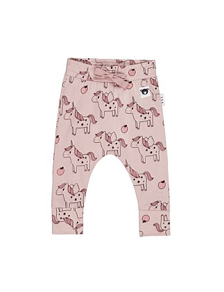UNICORN DROP CROTCH PANT (0-3M - 2Y)