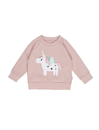 UNICORN SWEATSHIRT (0-3M - 2Y)