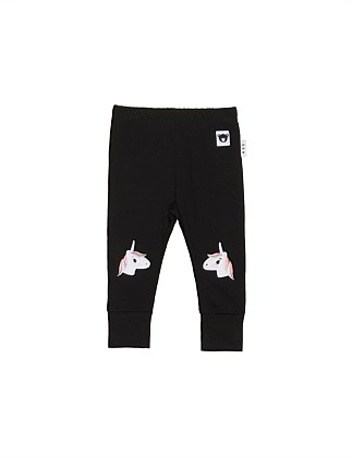 UNICORN KNEE LEGGING (0-3M - 3Y)