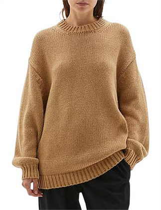 Chunky Crew Neck Knit