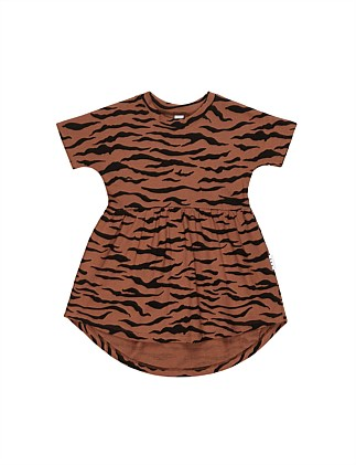 Tiger Swirl Dress (3-8 Years)