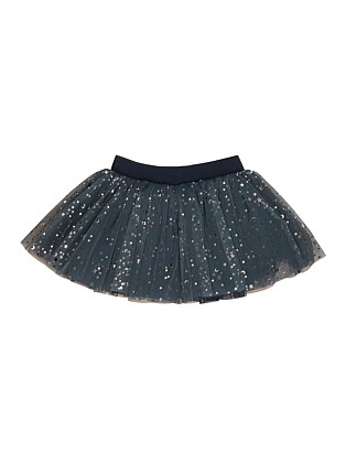Gold Star Tulle Skirt (3-8 Years)
