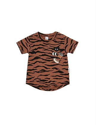 Tiger Patch T-Shirt (3-8 Years)