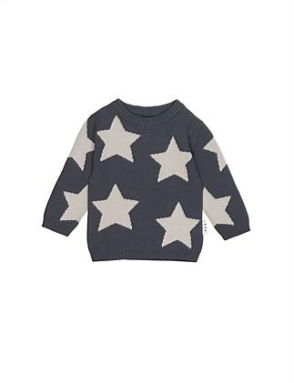 Star Knit Jumper (3-8 Years)