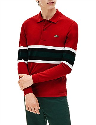 GOLDEN WEEK LS SLIM FIT POLO
